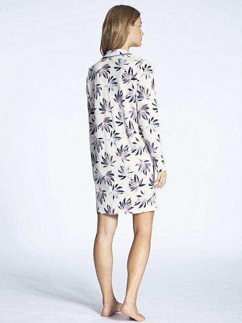 CALIDA Cosy Flowers Sleepshirt, geknöpft 95cm