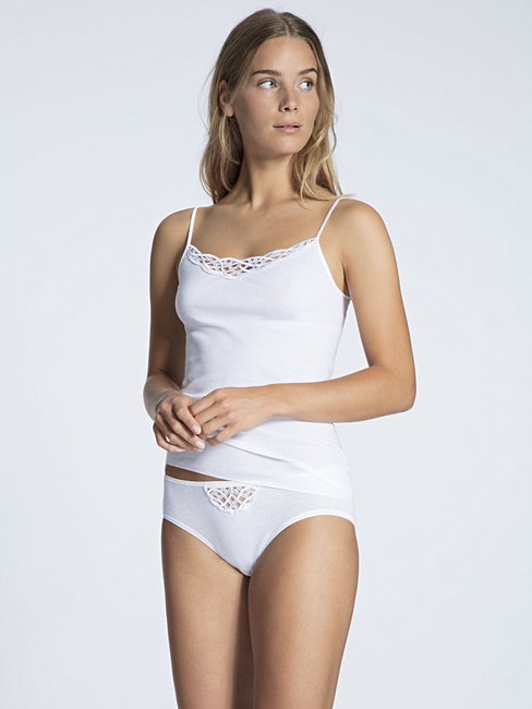 CALIDA Cotton Finerib Mini-Slip