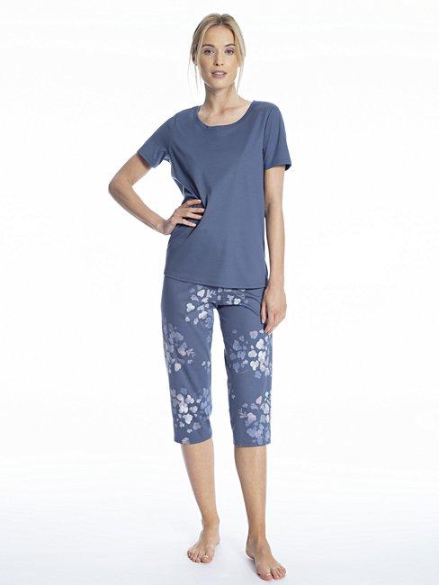 CALIDA Cosy Blossom 3/4 pyjama