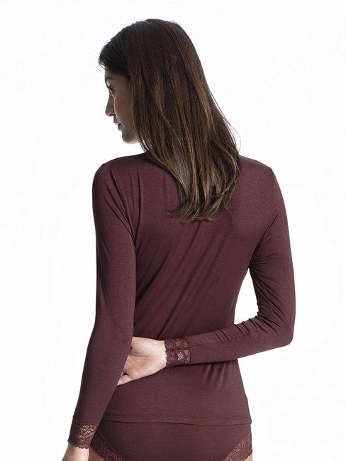 CALIDA Silky Modal Shirt long sleeve