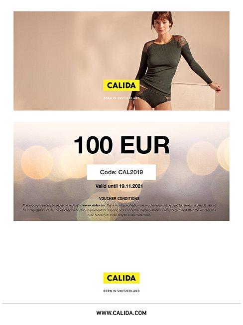 CALIDA  Downloadable gift voucher