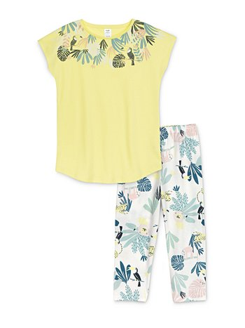 CALIDA Girls Tucan Pyjama 3/4