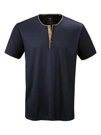 CALIDA Remix 4 T-Shirt mit Knopfleiste
