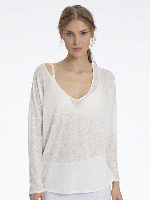 CALIDA Favourites Trend 2 Oversize-Shirt, Jacquard