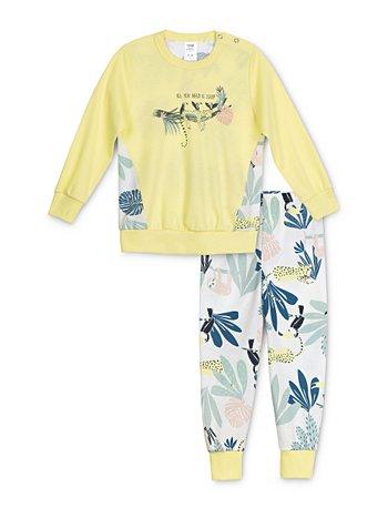 CALIDA Toddlers Tucan Kinder Schlafanzug mit Bündchen