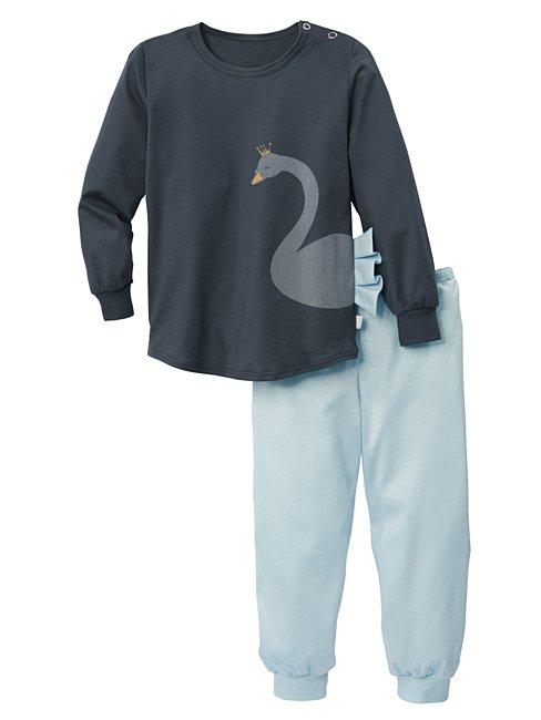 CALIDA Swan Love Kinder Bündchen-Pyjama
