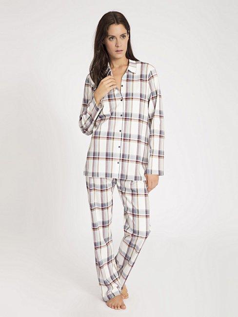 CALIDA Family Time Pyjama durchgeknöpft
