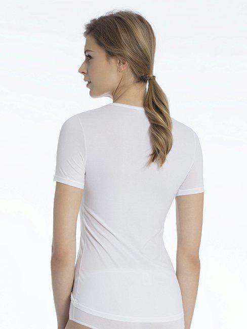 Calida Damen Top Kurzarm Balance Unterhemd