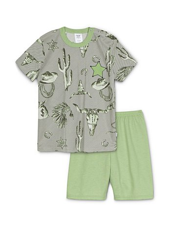 CALIDA Toddlers Western Kinder Kurz-Pyjama