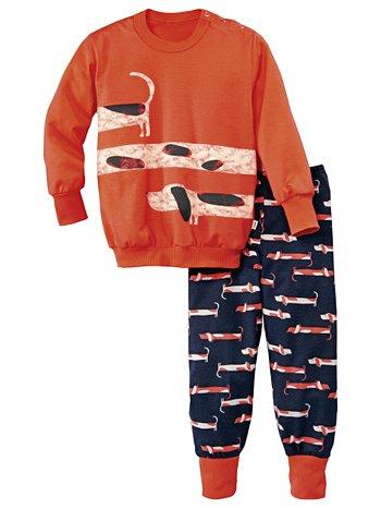CALIDA Toddlers Dog Kinder Bündchen-Pyjama