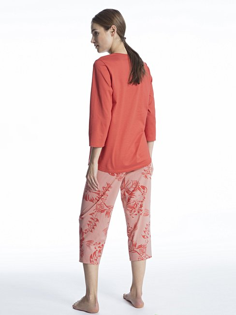CALIDA Soft Jersey Fun Pyjama 3/4