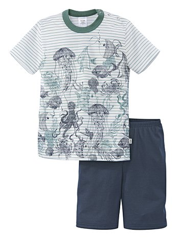 CALIDA Under The Sea Kinder-Kurz-Pyjama