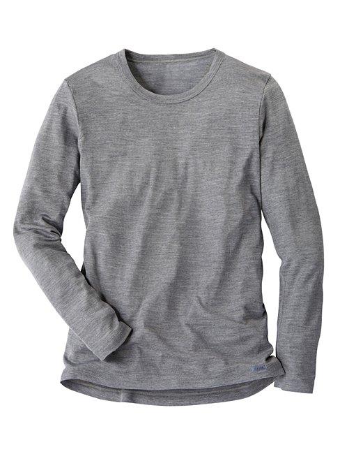 CALIDA Wool & Silk Langarm-Shirt aus Wolle und Seide