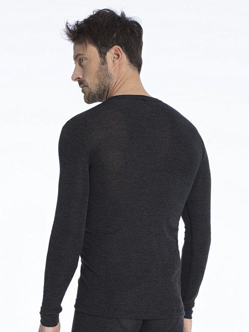 CALIDA Wool & Silk Longsleeve, drop tail