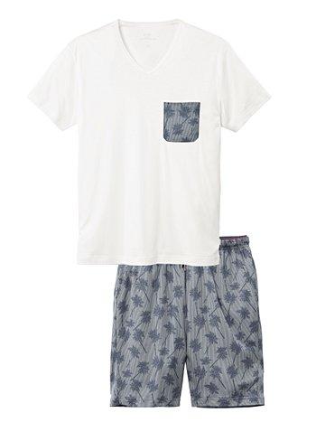 CALIDA Casual Holiday Kurz-Pyjama