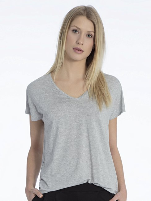 CALIDA Favourites Essentials Kurzarm-Shirt, V-Neck