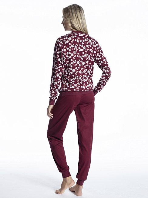CALIDA Soft Comfort Bündchen-Pyjama
