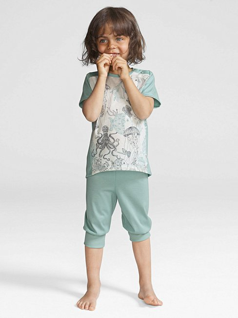 CALIDA Maritime Darling Kinder-3/4-Pyjama