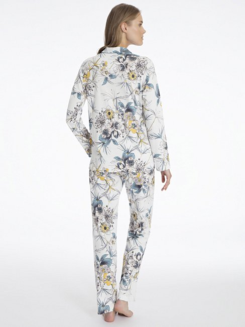 CALIDA Dalia Pyjama durchgeknöpft