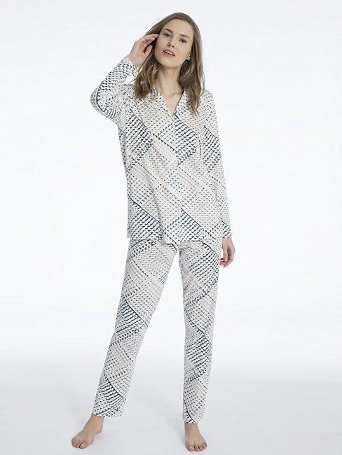 CALIDA Eve Pyjama, durchgeknöpft