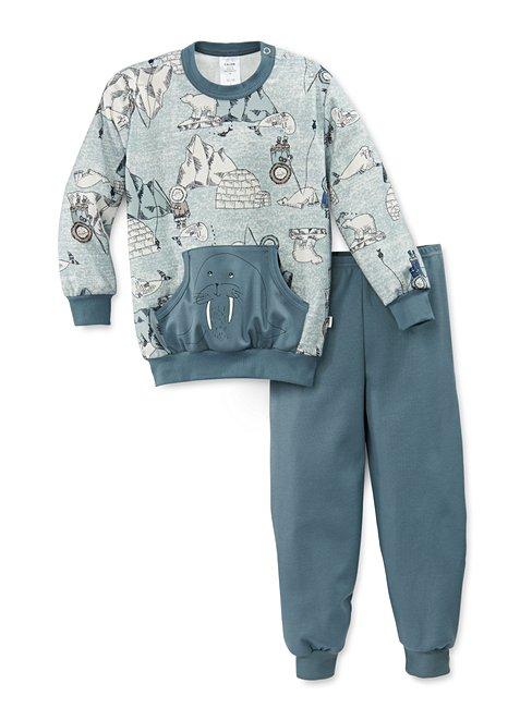 CALIDA Toddlers Seal Pyjama avec bords élastiques