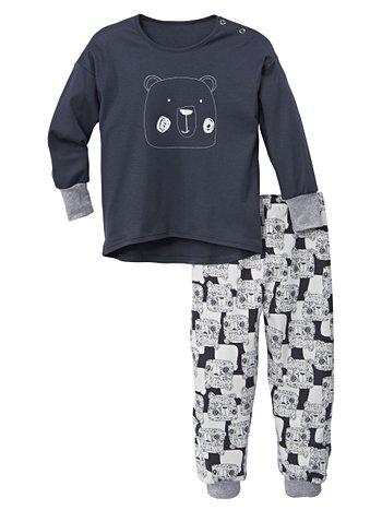 CALIDA Preppy Girl Kinder Bündchen-Pyjama