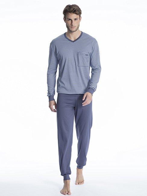 CALIDA Relax Streamline 1 Pyjama avec bords élastiques