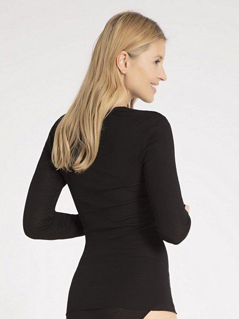 CALIDA Marilyn Shirt langarm aus Wolle-Seide