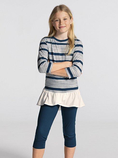 CALIDA Girls Stripes Mädchen 3/4-Pyjama