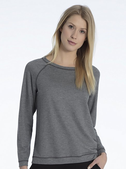 CALIDA Favourites Essentials Sweat-Shirt, Raglanärmel