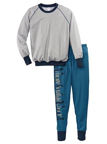 CALIDA Graphic Jungen Bündchen-Pyjama