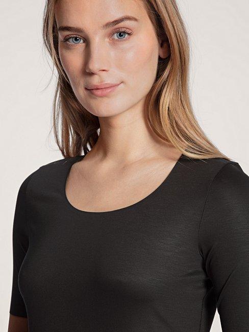 CALIDA Natural Luxe Shirt kurzarm
