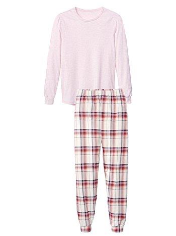 CALIDA Soft Flowers Bündchen-Pyjama