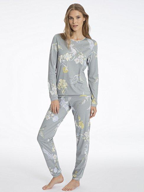 5aebad001b CALIDA Serafine Bündchen-Pyjama türkis | CALIDA Online-Shop