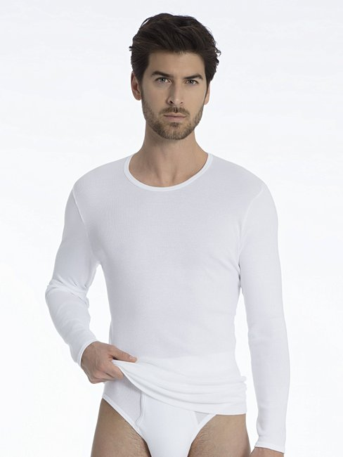 CALIDA Classic Cotton 1:1 T-Shirt langarm