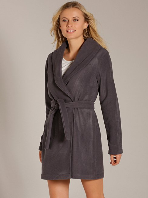 CALIDA Favourites Trend 2 Fleece-Jacke mit Schalkragen