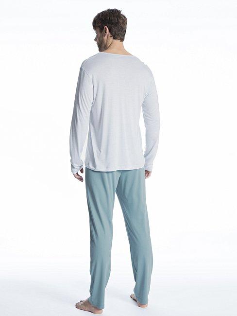 CALIDA Function Intense Pyjama mit Knopfleiste