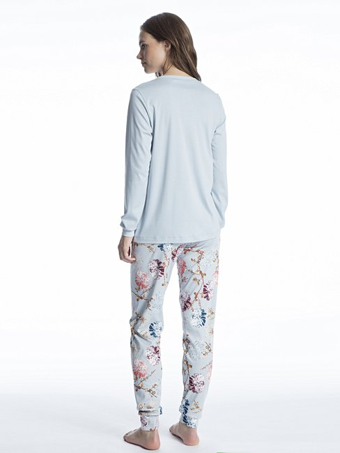 CALIDA Cosy Flowers Pyjama with cuff