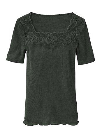 CALIDA Ines Kurzarm-Shirt aus Wolle-Seide