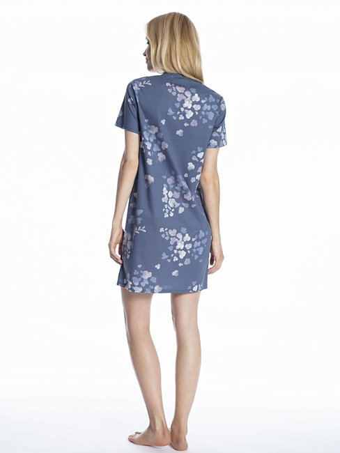 CALIDA Cosy Blossom Sleepshirt, lungezza 95cm