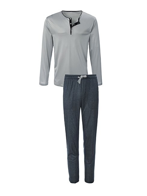 CALIDA Elay Pyjama with button tab