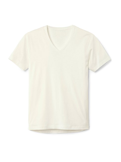 CALIDA 100% Nature T-Shirt, V-Neck, Compostable