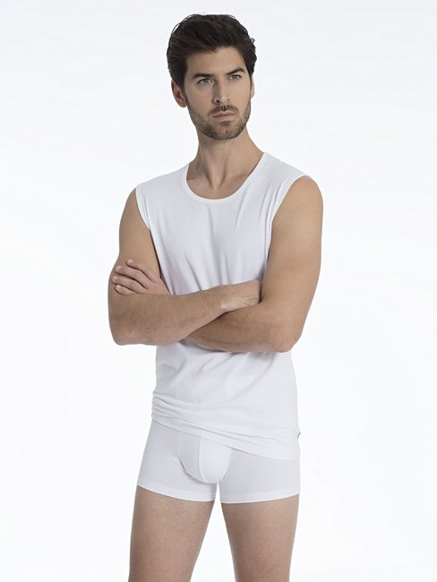 CALIDA Activity Cotton New Boxer, überzogener Bund