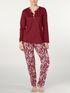 CALIDA Jodie Pyjama mit Knopfleiste