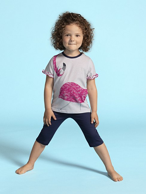 CALIDA Toddlers Flamingo Pyjama 3/4