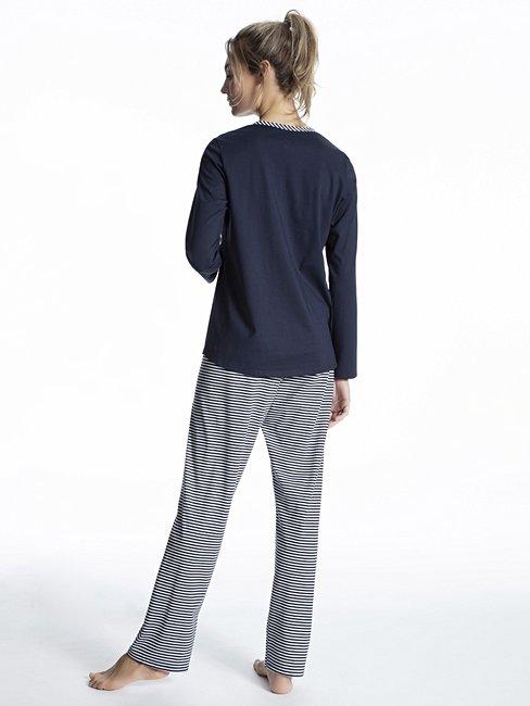 40//42  Pyjama Top mit Shorts Damen Nachtwäsche 36//38