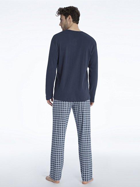 CALIDA Gavin Pyjama with button tab