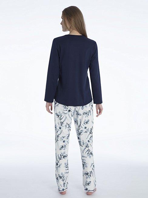 CALIDA Rosanna Pyjama with button tab