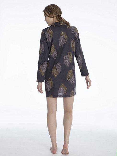CALIDA Salome Sleepshirt, geknöpft Länge 90cm