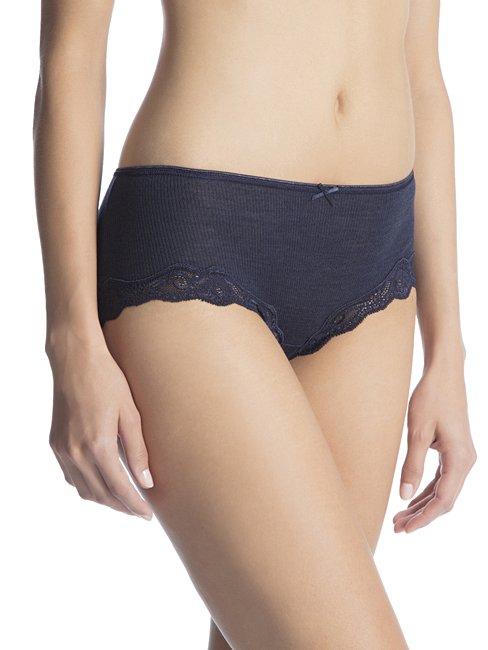 CALIDA Richesse Lace Panty aus Wolle & Seide